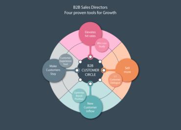 Fire trin der vil sikre din B2B vækst (miniserie: 1/4)